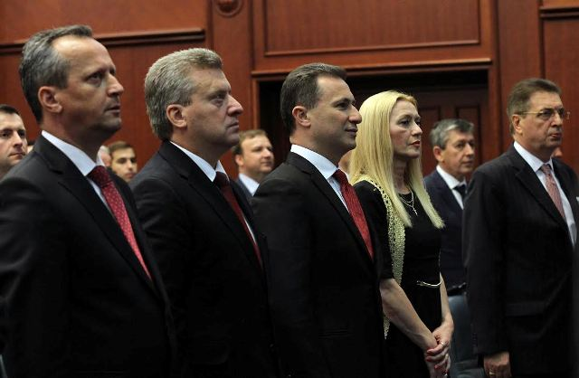 Warnings for sanctions against FYROM, reactions in Skopje