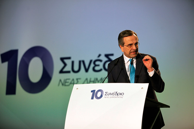 """Samaras: """"SYRIZA is an accident that should not have happened"""""""