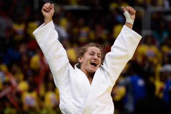 Majlinda Kelmendi wins the European judo championship