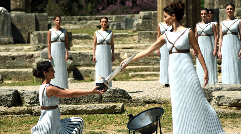 The journey of the Olympic Flame has started