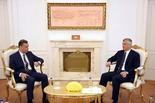 President Thaci demands a tougher fight against high profile crime