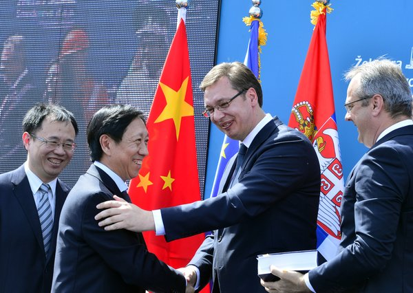 All-China Vucic, Ironworks and fireworks