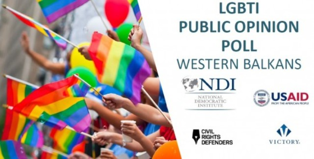 First  LGBTI opinion poll in the Balkans is conducted