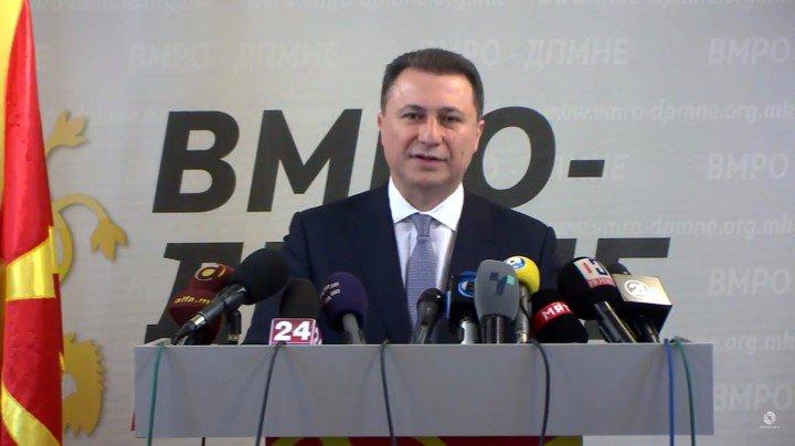Gruevski: Opposition is preparing Ukrainian like scenarios
