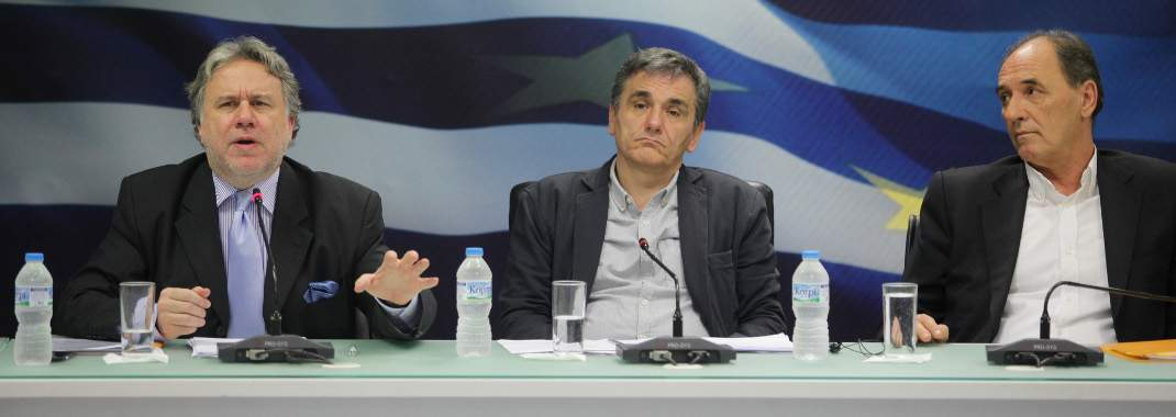 Greece toughens its stance