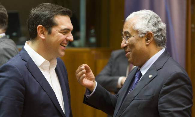 Portuguese Prime Minister on an official visit to Athens