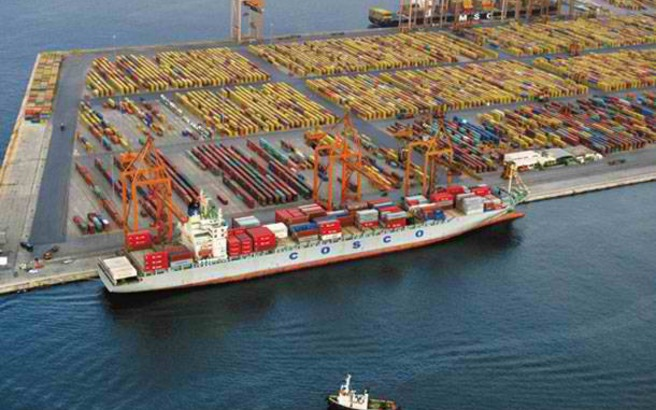 Greece' privatization fund, Chinese COSCOsign agreement for sale of majority stake in Piraeus Port Authority