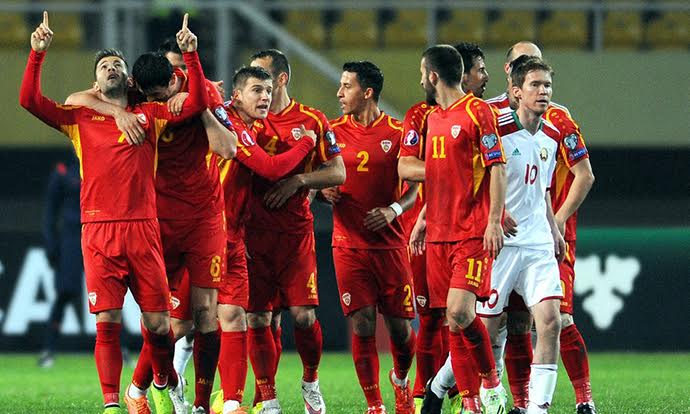 FYROM's national football side falls in the FIFA ranking