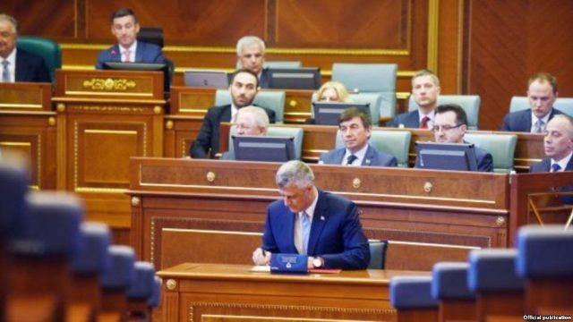 Thaci: I shall be the president of all the citizens of Kosovo