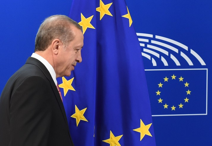Erdogan calls the EU to respect the Agreement on the Refugee problem