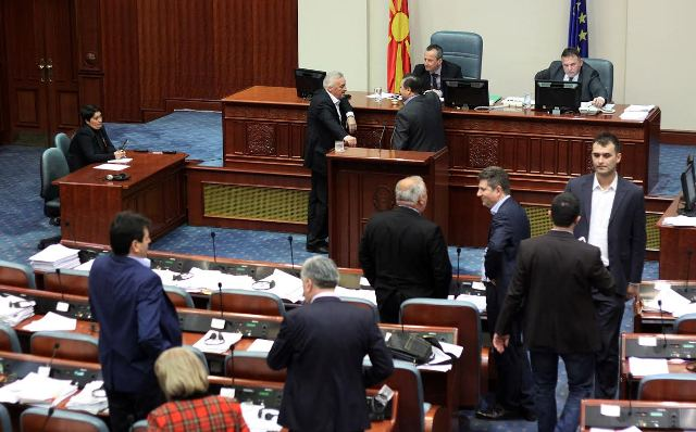 Parliament in FYROM dissolved, elections on June 5, the opposition will boycott