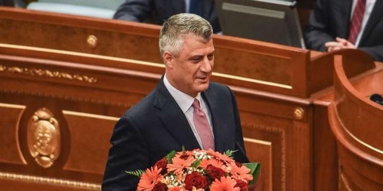 New president of Kosovo to take his oath