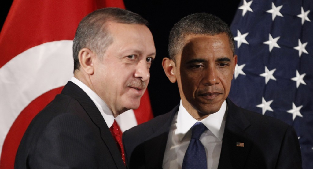 Obama makes clear to Erdogan that he considers the Kurds of Syria allies