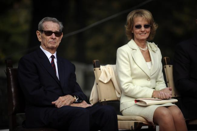 Ailing King Michael of Romania is feeling better, daughter says