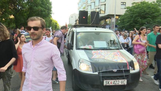 Protests in Skopje enter their eighth week