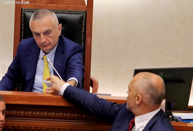 The future of the governing coalition in Albania is unclear
