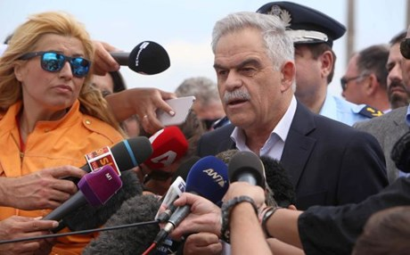 Toskas: The operation in Idomeni was conducted with respect for the basic principles of humanity