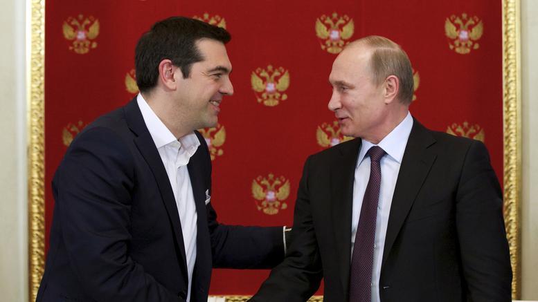 Vladimir Putin in Greece after 10 years