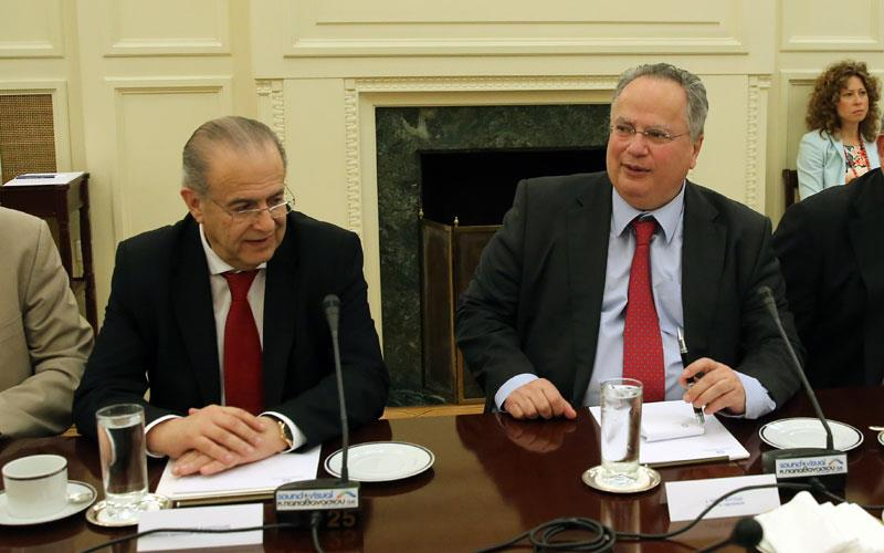Kotzias: The geopolitical interests of a third country cannot be a criterion for a solution.