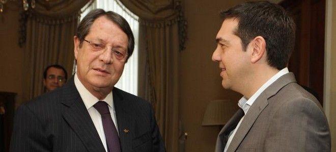 Συγχαρητήρια Αναστασιάδη σε Τσίπρα