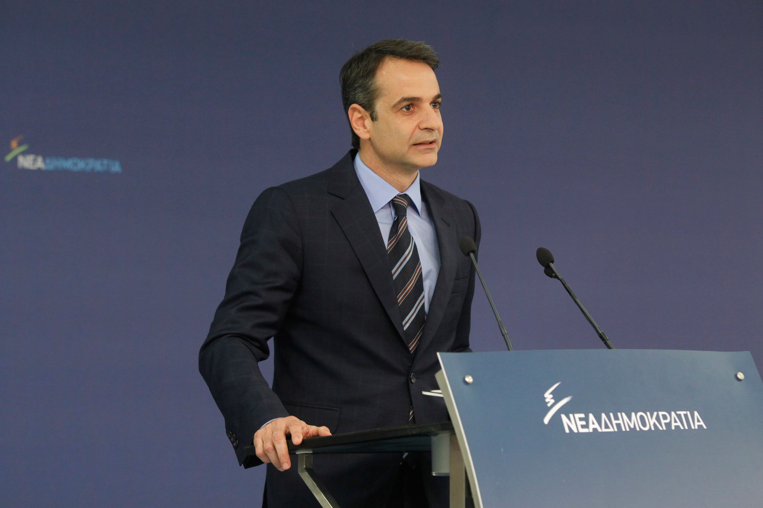 Mitsotakis: The main objective of ND is social cohesion