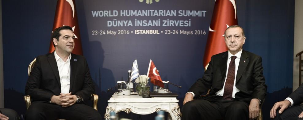 Tsipras – Erdogan: Cooperation is necessary