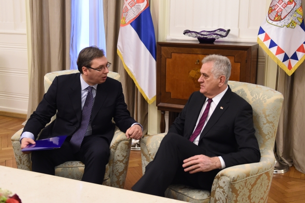 Nikolic gives mandate for new government to Vucic