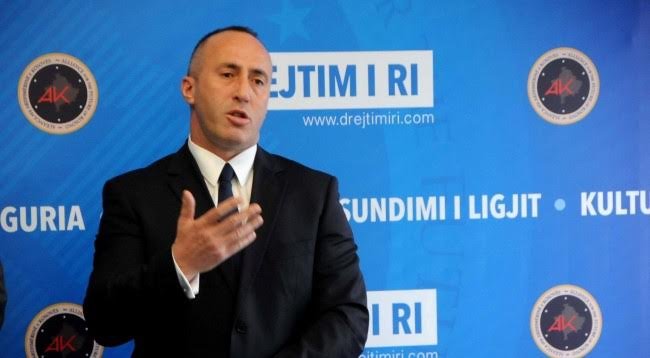Anti-constitutional campaign for demarcation by the heads of the state, says Haradinaj
