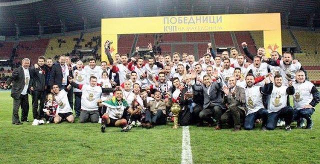 FK Shkendija wins the National Cup