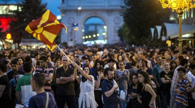 Protests in FYROM entering the fifth week
