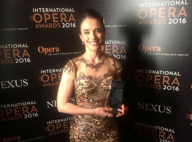 Prominent Albanian soprano wins the International Opera Awards
