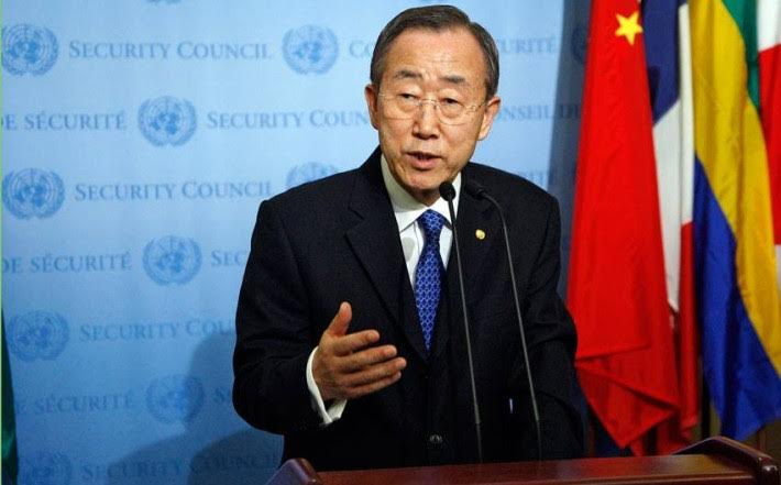 Ban Ki-moon is worried about the gridlock in the talks between Kosovo and Serbia