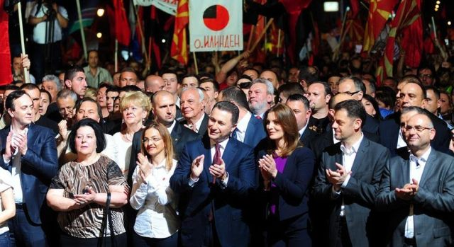 VMRO-DPMNE and two small parties head to elections, other parties against