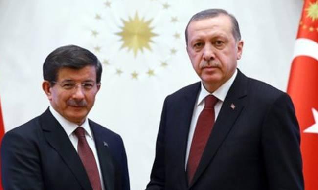 Davutoglu best man at the wedding of the daughter of Erdogan