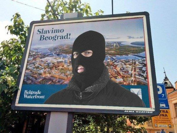 Protests in Belgrade over illegal demolishing