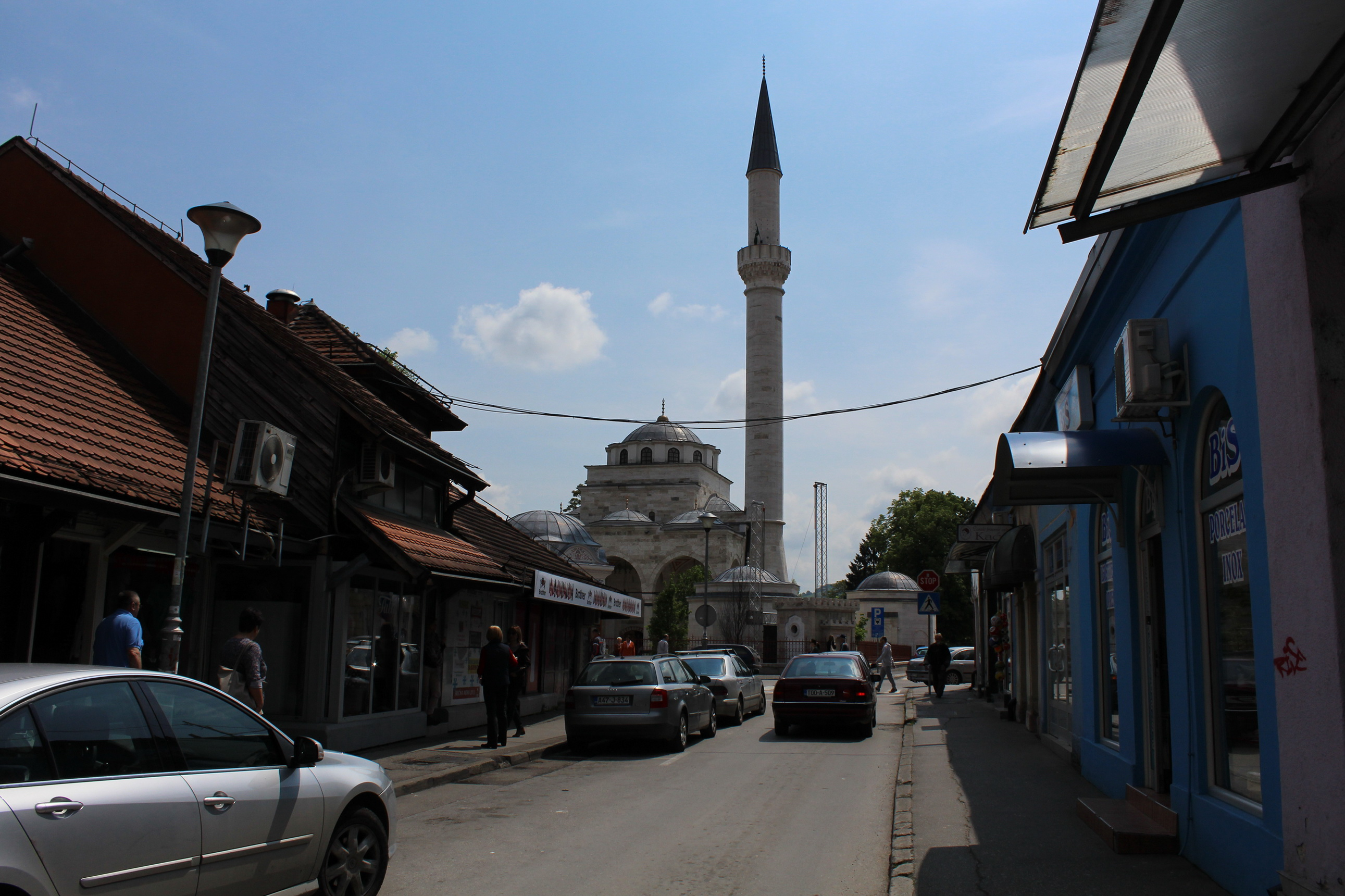 Reconstructed Ferhat Pasha mosque to be inaugurated tomorrow