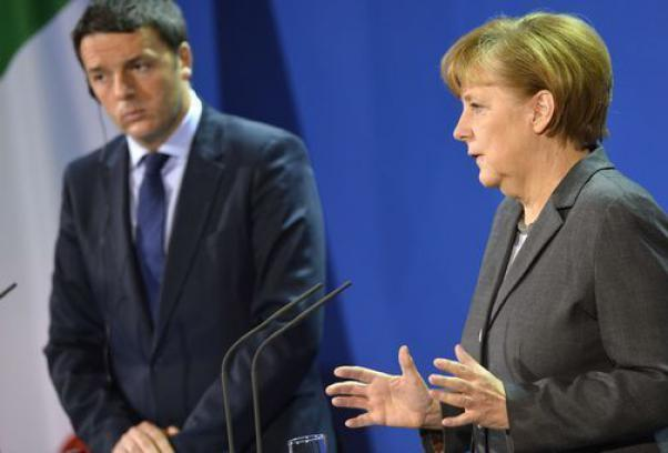 Merkel: We are not abandoning Greece and Italy