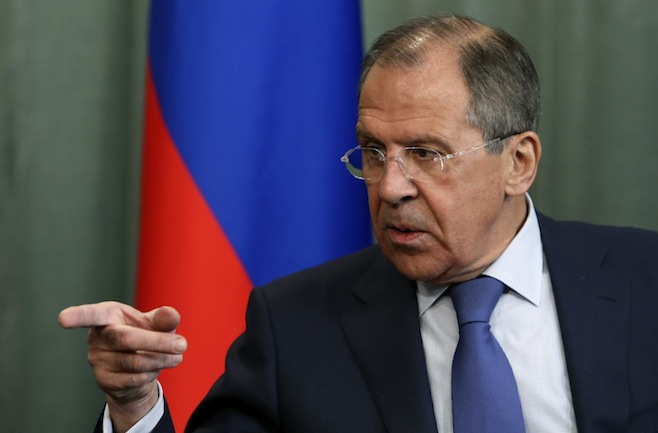 Lavrov: Conviction for the violations in the Aegean