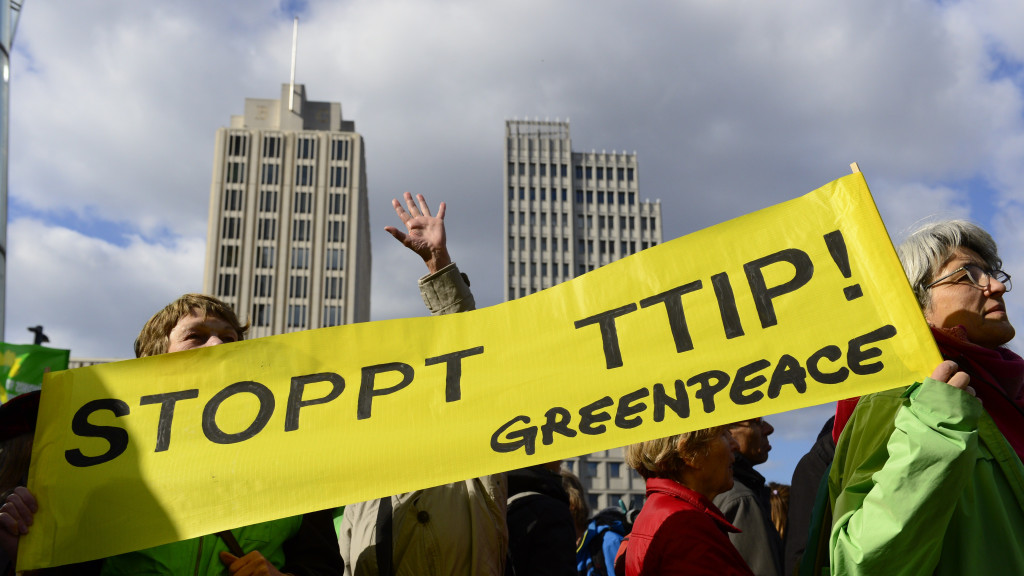Greenpeace: The application of TTIP will harm Greece