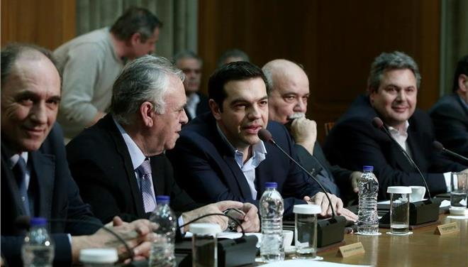 Tsipras holds emergency meetings ahead of May 9 Eurogroup