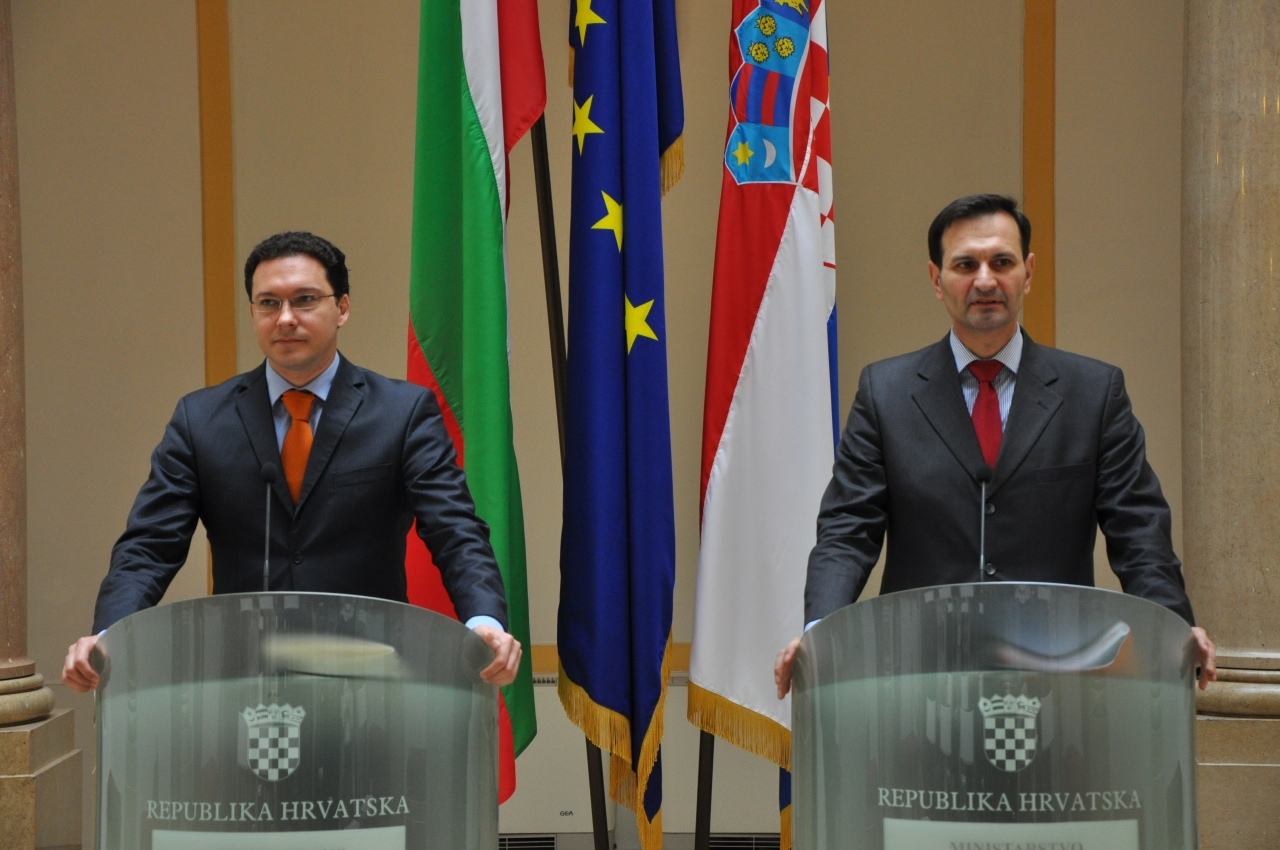 Bulgaria, Croatia, share views on migration, energy issues