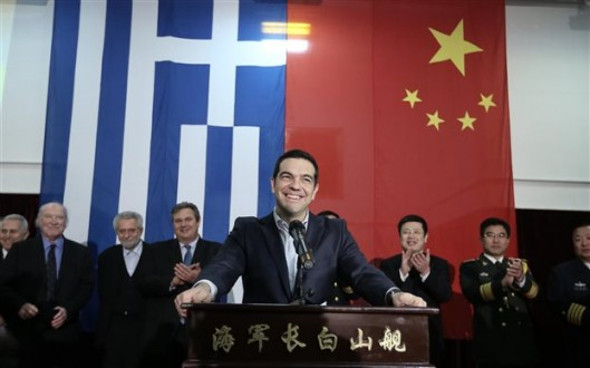 Alexis Tsipras to visit Beijing and Shanghai