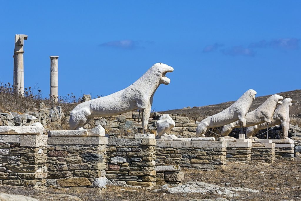 New archaeological finds at the sea of ​​Delos