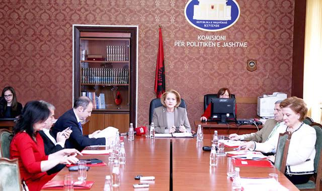 Albanian parliament ratifies the agreement with the US on terrorism