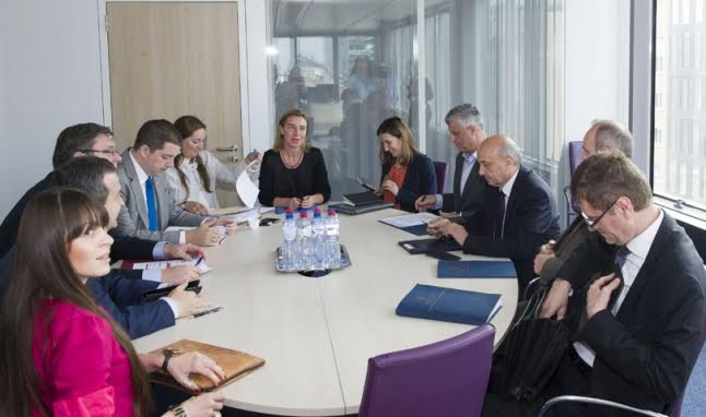European Union requests for dialogue between Kosovo and Serbia to resume