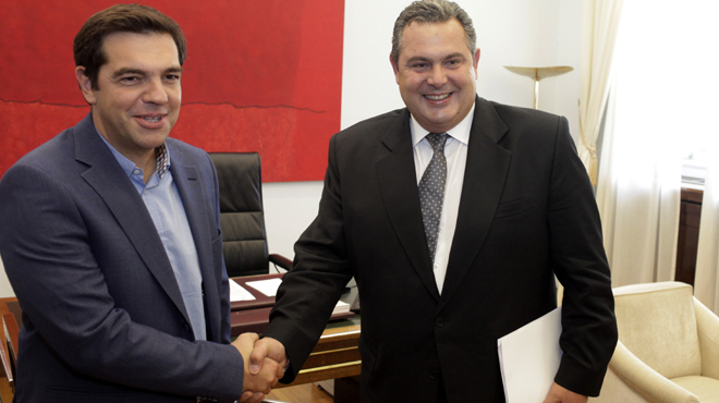 Kammenos: SYRIZA and ANEL will reach a common government proposal