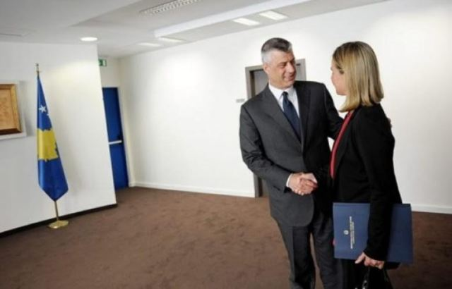 Brussels, President of Kosovo demands the acceleration of the European agenda
