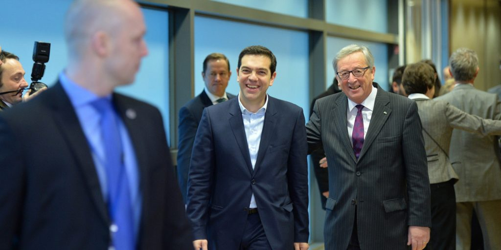European Commission chief in Athens