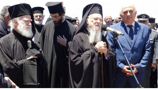 Bartholomew sends message-call for Orthodox unity from Crete