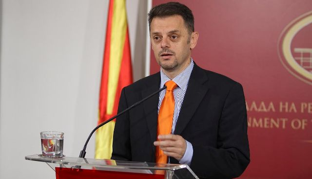 FYROM's Finance Minister resigns